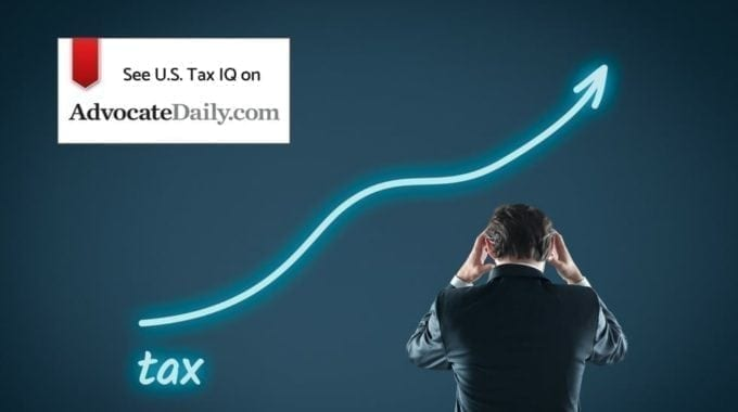 Brandon Vucent And Alexey Manasuev Featured In AdvocateDaily.com – Transition Tax Places 'further Burden' On U.S. Taxpayers
