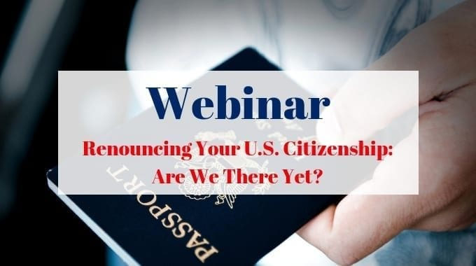 Renouncing US Citizenship In Canada