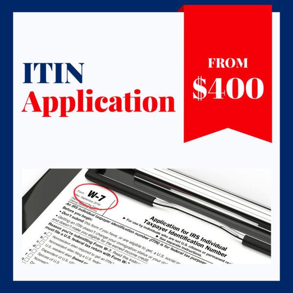 ITIN Application Services