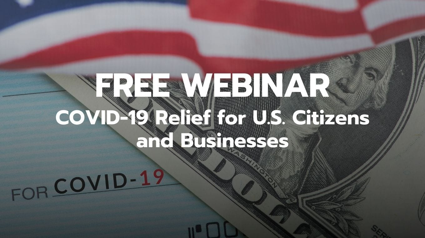 COVID-19 Relief for U.S. Citizens and Businesses