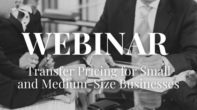 Transfer pricing for Small and Medium-Sized Businesses