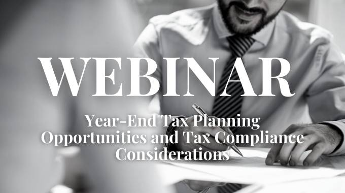 Tax Planning and Tax Compliance